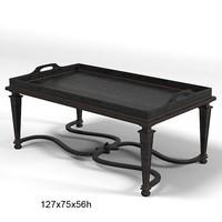 chelini classic table 3d model