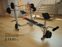 3ds bench dumbbell