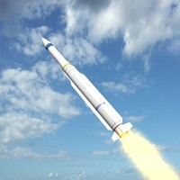 evolved missile rim-162 essm 3d model