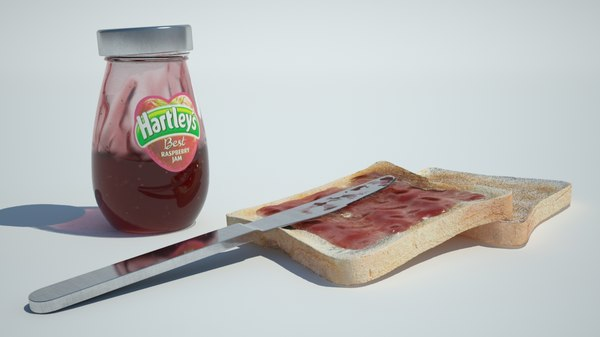 Jam, Toast & Knife