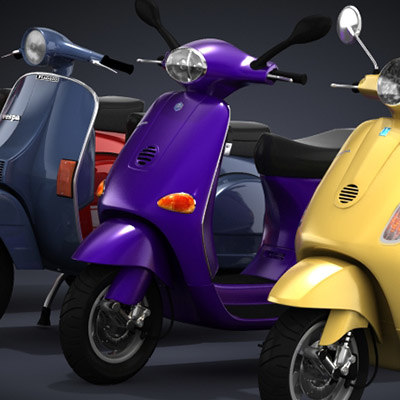 Modern Vespa Collection