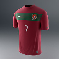 portugal soccer shirt - 3d model