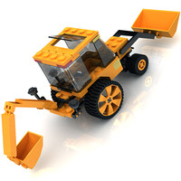 LEGO Tractor toy