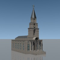 english church 3d model
