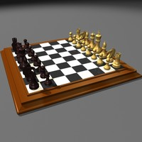 Chess-Set-Board