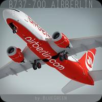 Boeing 737-700 AirBerlin