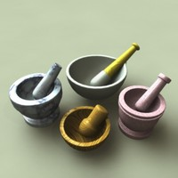 Pestle and Mortar Collection