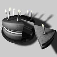 3d strange cake