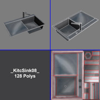 3d polys sink model