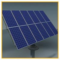 3ds max solar panels