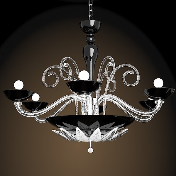Searched 3d models for black modern chandelier fdv collection orleans l12 orleans chandelier by marina toscano classic modern crystal murano glass chandelier black aloadofball Images