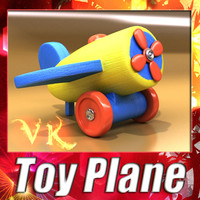 3ds max toy plane