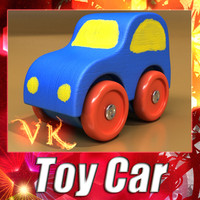 3d obj toy car