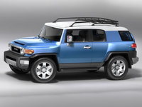 FJ Cruiser 3D models