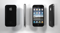 iphone 4g 3d model