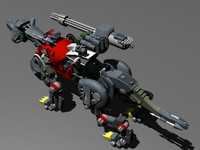 Zoids Red Tiger