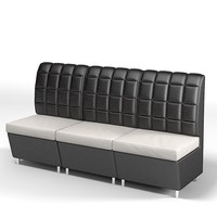 modern contemporary sofa corner tuft tufted restaurant cafe