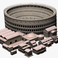 3ds max ancient roman