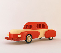 cartoon toy car