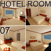 Hotel Guest Room 07