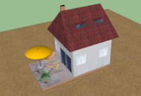 free 3ds mode house small
