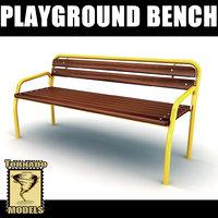 Playground Bench