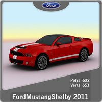 Ford Mustang Shebly GT500 2011