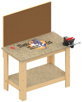 Kids Size Work Bench