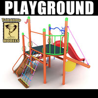 playground ground 3d model