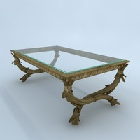 living-room table 3d 3ds