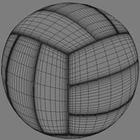 3dsmax volleyball ball
