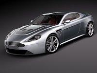 3d model of aston martin v12 vantage