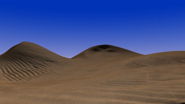 how to make model sand dunes