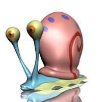 Gary the snail 3D