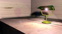 free desk lamp 3d model