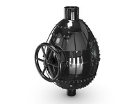 metal egg ventile