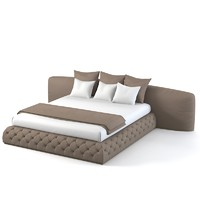 Flexform MOOD LEONARDO DOUBLE BED 230 modern contemporary
