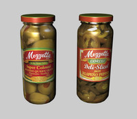 jar olives peppers 3d 3ds