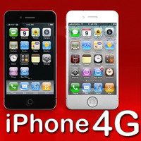 High Def Iphone 4G Black & White