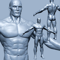 Male heroic character - Zbrush model (.ztl)