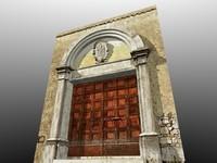 historic romanic italian portal blend
