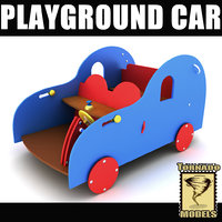 3d model of playground ground