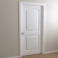 interior door - shaker 3d model