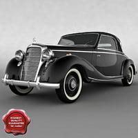 mercedes w136 1949 3d 3ds