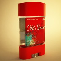 perspirant old spice 3d model