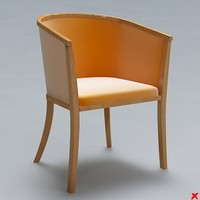armchair chair 3ds free