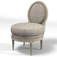 collection pierre cupidon armchair chair modern traditional chuffeuse round