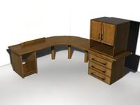 3D Model of a Computer Desk