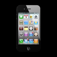 apple iphone 4g 3d model