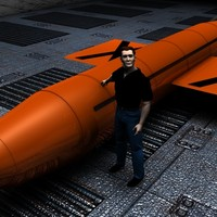 free massive ordnance air burst 3d model